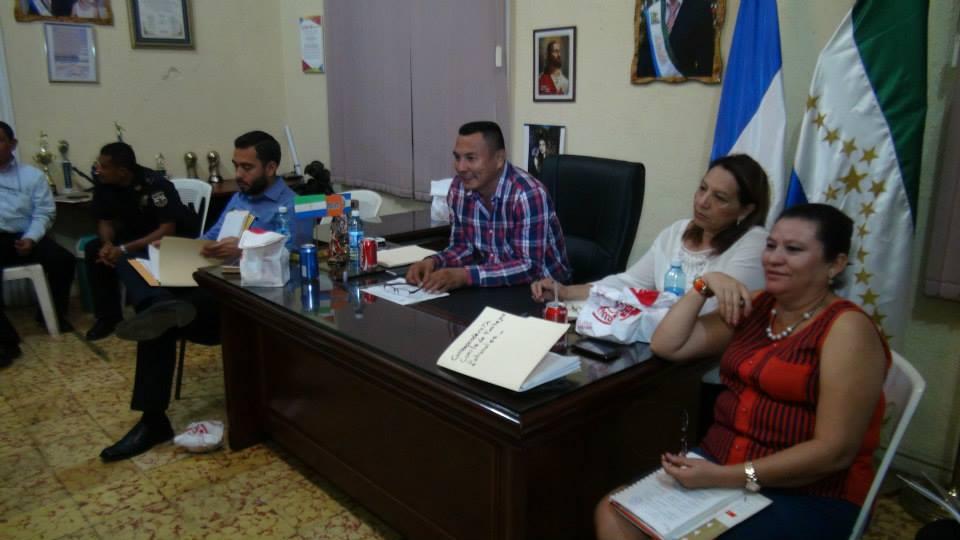 Reunión Comité Central de Festejos Patronales de Usulután.