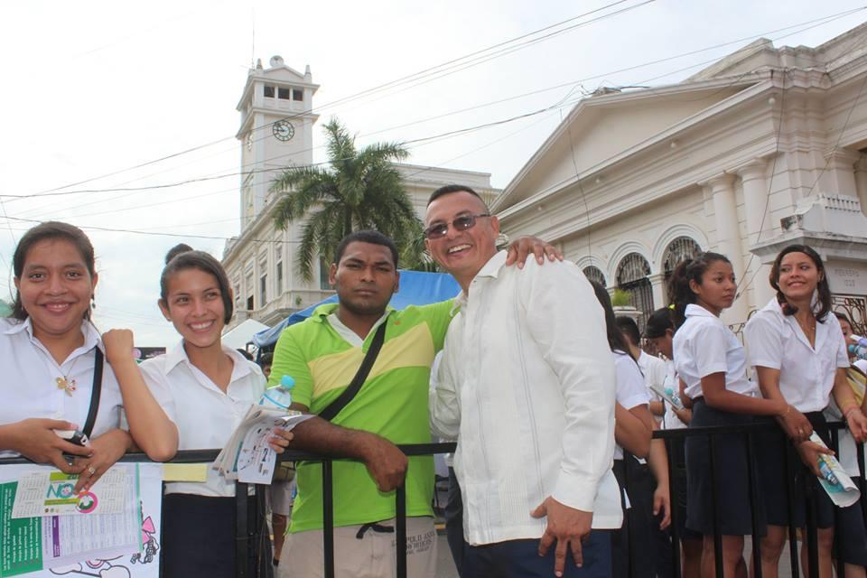 Piedra, Alcalde Compartió con los Usulutecos