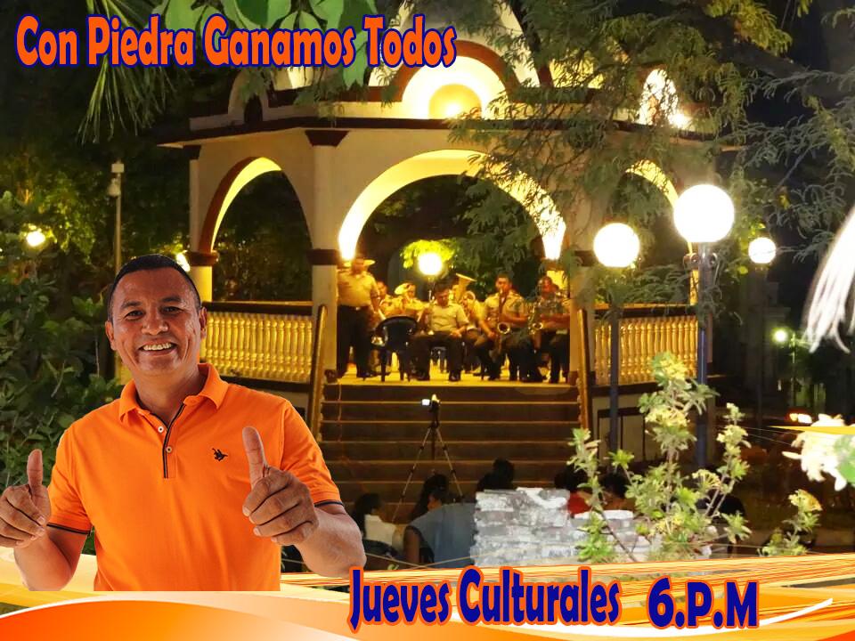 jueves culturales a partir de las 6 PM, en el Raúl F. Munguía.