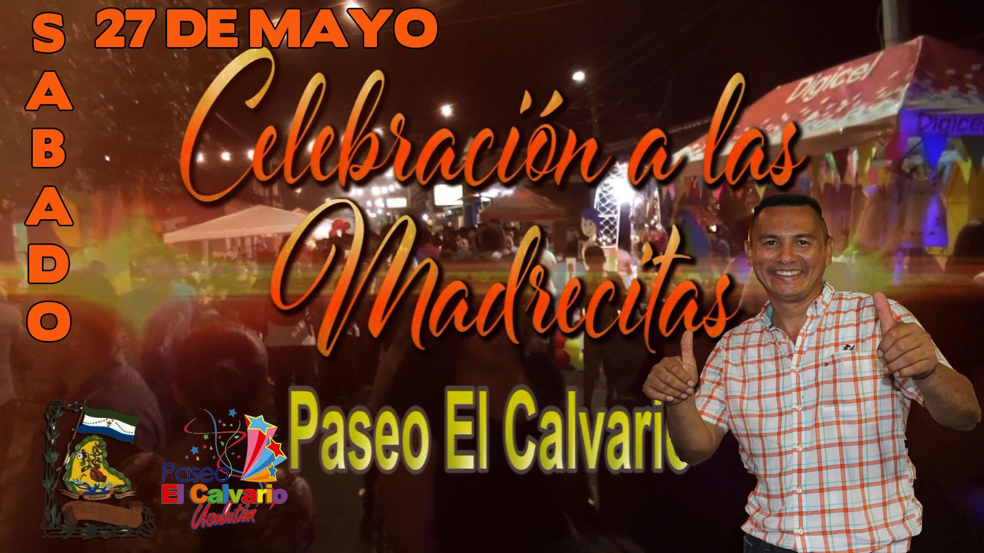 Celebración del día de la Madre en Paseo El Calvario