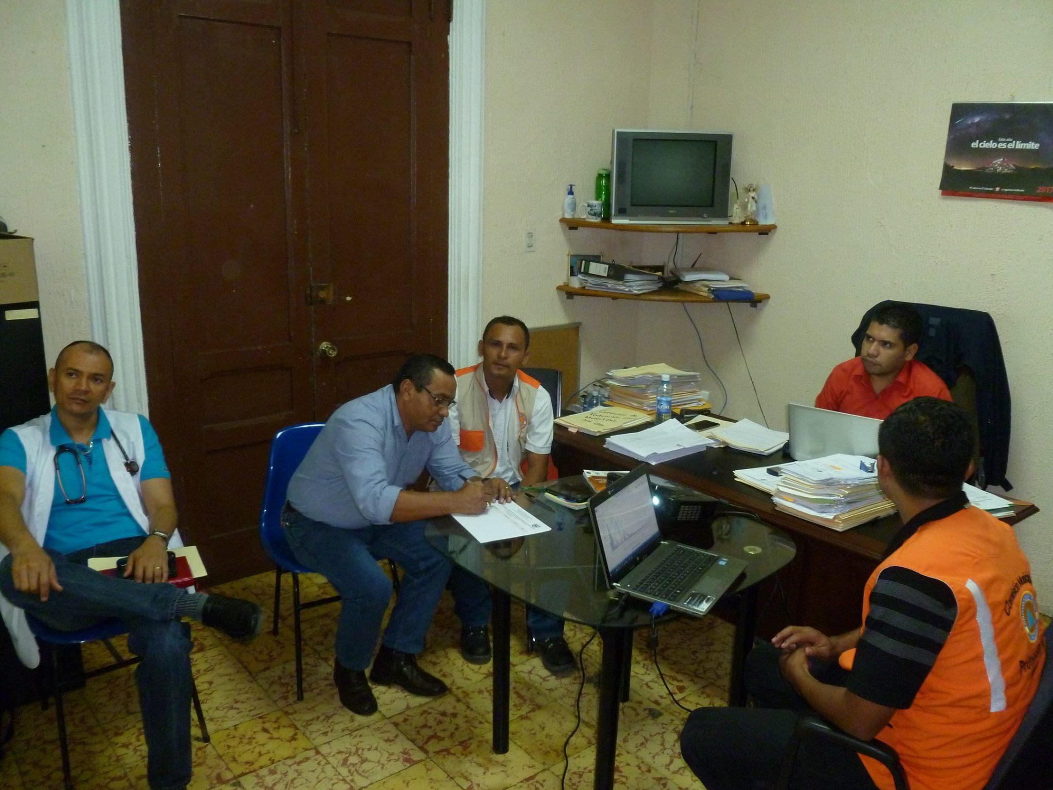 Reunión de la Comisión Municipal de Protección Civil