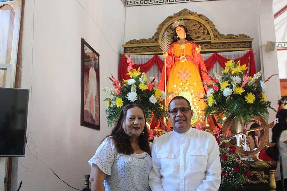 Solemne Misa Celebrada en Honor a Santa Catarina de Alejandría