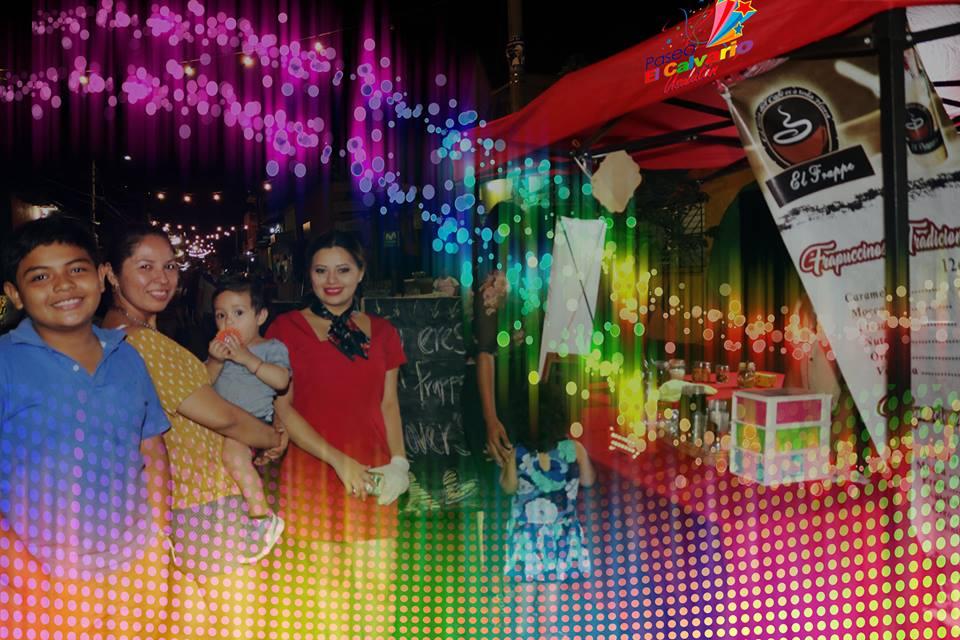 Disfrutemos en familia de las 5 cuadras mas alegres de la ciudad de Usulután, Paseo El Calvario. Sábados 5 PM