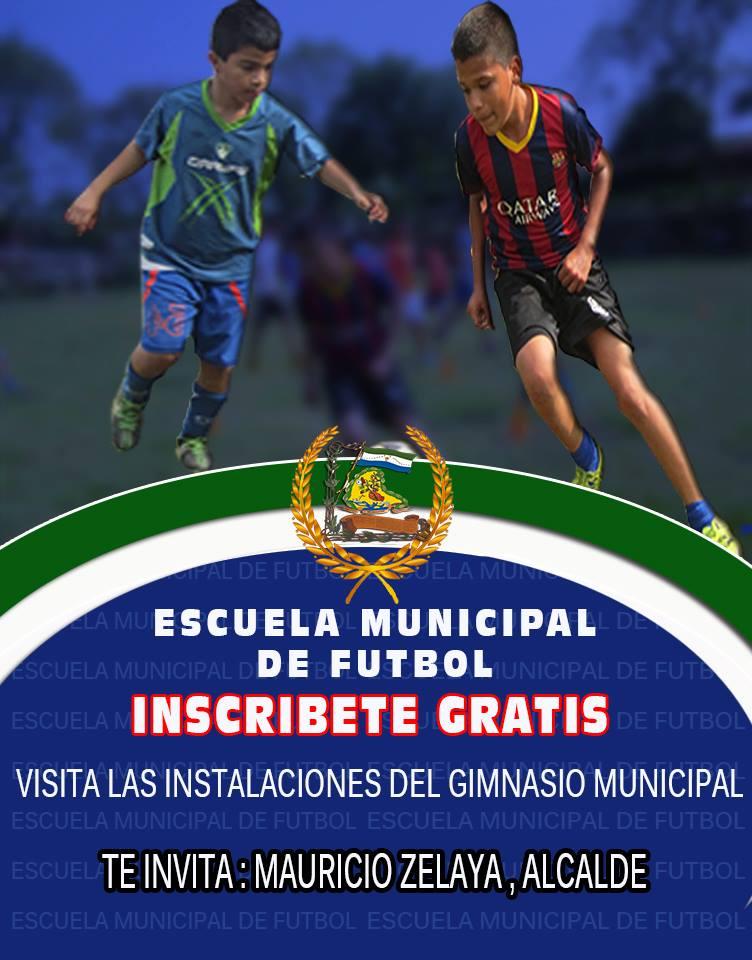 Inscribete en la Escuela Municipal de Futbol