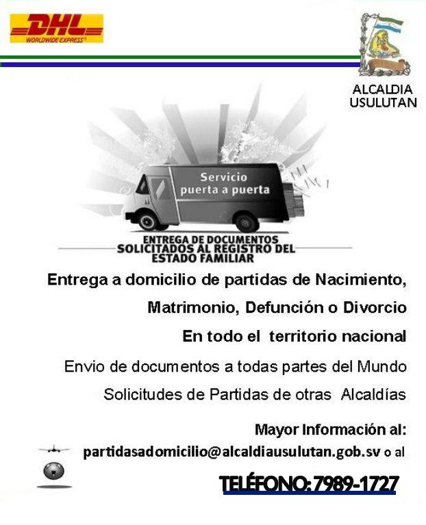 Solicita Documentos y Partidas de Nacimiento  a Domicilio en Mas de 220 Paises